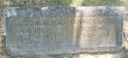 GARDNER, ERNEST MOREHEAD - Cooke County, Texas | ERNEST MOREHEAD GARDNER - Texas Gravestone Photos