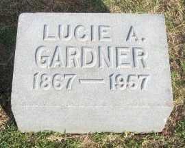 GARDNER, LUCIE A. - Cooke County, Texas | LUCIE A. GARDNER - Texas Gravestone Photos