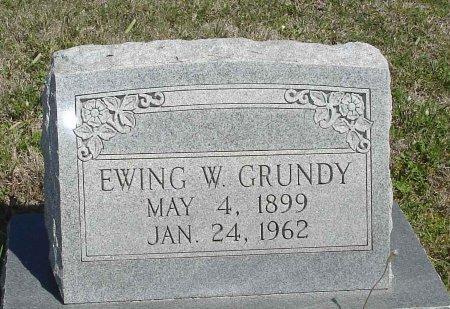 GRUNDY, EWING W. - Cooke County, Texas   EWING W. GRUNDY - Texas Gravestone Photos