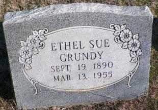 GRUNDY, ETHEL SUE - Cooke County, Texas   ETHEL SUE GRUNDY - Texas Gravestone Photos