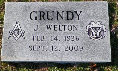 GRUNDY, J. WELTON - Cooke County, Texas | J. WELTON GRUNDY - Texas Gravestone Photos