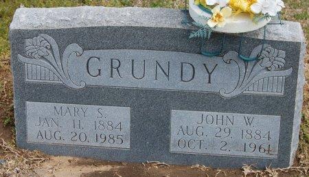 GRUNDY, JOHN WILLIAM - Cooke County, Texas | JOHN WILLIAM GRUNDY - Texas Gravestone Photos