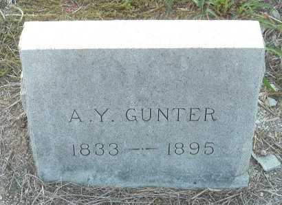 GUNTER, ADDISON YANCY - Cooke County, Texas | ADDISON YANCY GUNTER - Texas Gravestone Photos