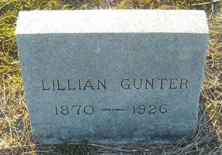 GUNTER, LILLIAN - Cooke County, Texas   LILLIAN GUNTER - Texas Gravestone Photos