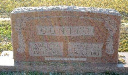 GIDDONS GUNTER, MABEL - Cooke County, Texas | MABEL GIDDONS GUNTER - Texas Gravestone Photos