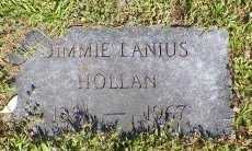 HOLLAN, JIMMIE LANIUS - Cooke County, Texas | JIMMIE LANIUS HOLLAN - Texas Gravestone Photos