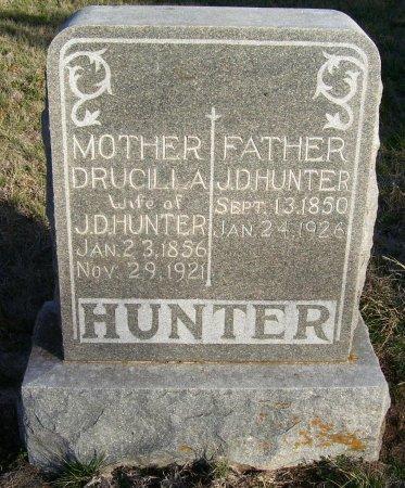 HUNTER, JAMES DREW - Cooke County, Texas | JAMES DREW HUNTER - Texas Gravestone Photos