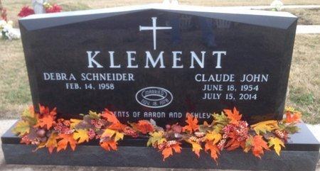 KLEMENT, CLAUDE JOHN - Cooke County, Texas   CLAUDE JOHN KLEMENT - Texas Gravestone Photos