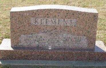 KLEMENT, ELIZABETH MARGARET - Cooke County, Texas | ELIZABETH MARGARET KLEMENT - Texas Gravestone Photos