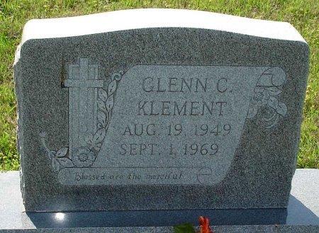 KLEMENT, GLENN CHARLES - Cooke County, Texas   GLENN CHARLES KLEMENT - Texas Gravestone Photos