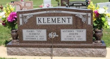 """KLEMENT, ISABELL """"SIS"""" - Cooke County, Texas   ISABELL """"SIS"""" KLEMENT - Texas Gravestone Photos"""