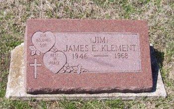 KLEMENT, JAMES E. - Cooke County, Texas   JAMES E. KLEMENT - Texas Gravestone Photos