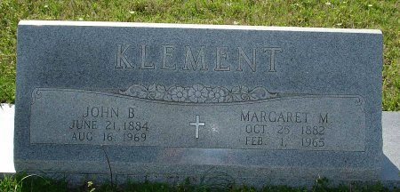 KLEMENT, MARGARET MARY - Cooke County, Texas | MARGARET MARY KLEMENT - Texas Gravestone Photos