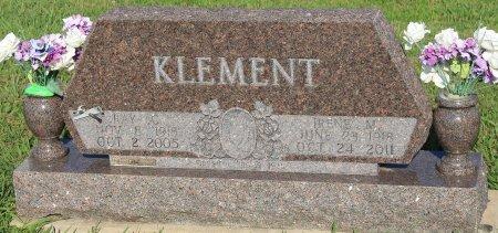 KLEMENT, RAYMOND CHARLES - Cooke County, Texas   RAYMOND CHARLES KLEMENT - Texas Gravestone Photos