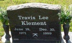 KLEMENT, TRAVIS LEE - Cooke County, Texas   TRAVIS LEE KLEMENT - Texas Gravestone Photos