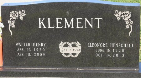 KLEMENT, ELEANORE CHRISTINE - Cooke County, Texas | ELEANORE CHRISTINE KLEMENT - Texas Gravestone Photos