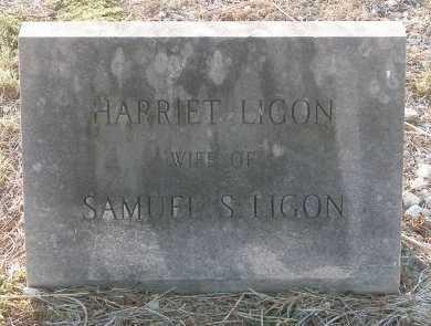 LIGON, HARRIET - Cooke County, Texas | HARRIET LIGON - Texas Gravestone Photos