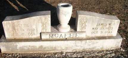 MCAFEE, BETTIE - Cooke County, Texas | BETTIE MCAFEE - Texas Gravestone Photos