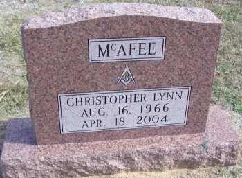 MCAFEE, CHRISTOPHER LYNN - Cooke County, Texas   CHRISTOPHER LYNN MCAFEE - Texas Gravestone Photos