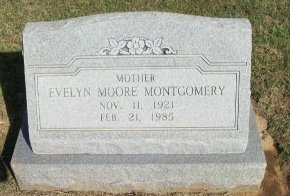 MONTGOMERY, EVELYN - Cooke County, Texas | EVELYN MONTGOMERY - Texas Gravestone Photos