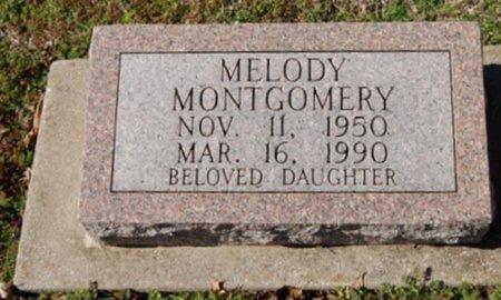 MONTGOMERY, MELODY - Cooke County, Texas | MELODY MONTGOMERY - Texas Gravestone Photos