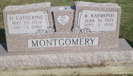 MONTGOMERY, OLGA CATHERINE - Cooke County, Texas | OLGA CATHERINE MONTGOMERY - Texas Gravestone Photos
