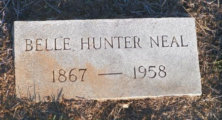 HUNER NEAL, BELLE - Cooke County, Texas | BELLE HUNER NEAL - Texas Gravestone Photos