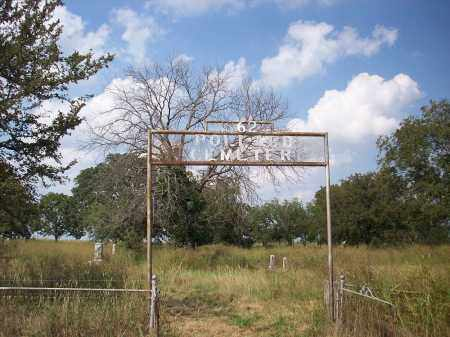 *OVERVIEW AND GATE,  - Cooke County, Texas |  *OVERVIEW AND GATE - Texas Gravestone Photos
