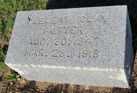 POTTER, CLEMENT CLAY - Cooke County, Texas | CLEMENT CLAY POTTER - Texas Gravestone Photos