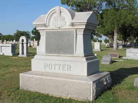 POTTER, FAMILY STONE - Cooke County, Texas   FAMILY STONE POTTER - Texas Gravestone Photos