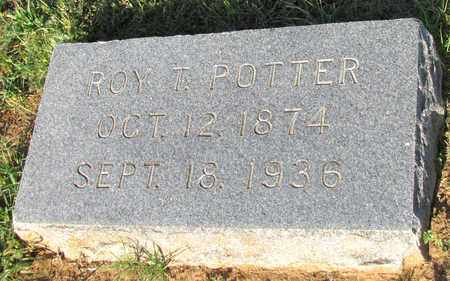POTTER, ROY T - Cooke County, Texas | ROY T POTTER - Texas Gravestone Photos