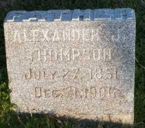 THOMPSON, ALEXANDER J. - Cooke County, Texas   ALEXANDER J. THOMPSON - Texas Gravestone Photos