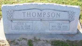 THOMPSON, AUDIE EUGENE - Cooke County, Texas | AUDIE EUGENE THOMPSON - Texas Gravestone Photos