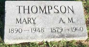 THOMPSON, A. M. - Cooke County, Texas | A. M. THOMPSON - Texas Gravestone Photos