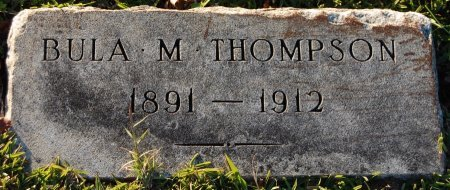 THOMPSON, BULA M. - Cooke County, Texas   BULA M. THOMPSON - Texas Gravestone Photos