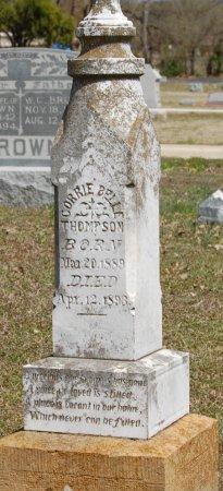 THOMPSON, CORRIE BELLE - Cooke County, Texas | CORRIE BELLE THOMPSON - Texas Gravestone Photos
