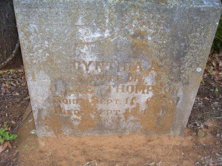 THOMPSON, CYNTHIA A. - Cooke County, Texas | CYNTHIA A. THOMPSON - Texas Gravestone Photos