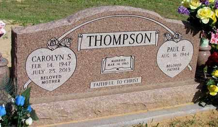 THOMPSON, CAROLYN S. - Cooke County, Texas   CAROLYN S. THOMPSON - Texas Gravestone Photos