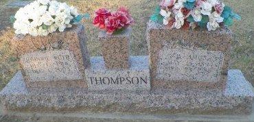 THOMPSON, DANIEL AMOS - Cooke County, Texas | DANIEL AMOS THOMPSON - Texas Gravestone Photos