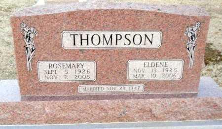 THOMPSON, ROSEMARY - Cooke County, Texas   ROSEMARY THOMPSON - Texas Gravestone Photos
