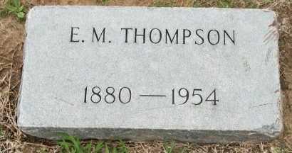 THOMPSON, ERVIN MORRIS - Cooke County, Texas   ERVIN MORRIS THOMPSON - Texas Gravestone Photos