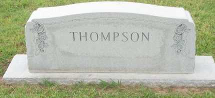 THOMPSON, FAMILY STONE - Cooke County, Texas   FAMILY STONE THOMPSON - Texas Gravestone Photos