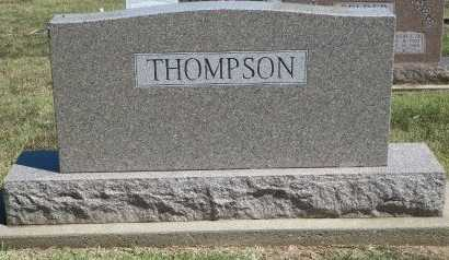 THOMPSON, FAMILY STONE - Cooke County, Texas | FAMILY STONE THOMPSON - Texas Gravestone Photos