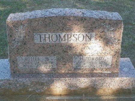 THOMPSON, ETHEL BLANCHE - Cooke County, Texas   ETHEL BLANCHE THOMPSON - Texas Gravestone Photos
