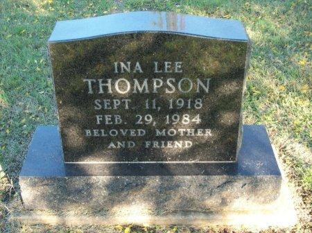 THOMPSON, INA LEE - Cooke County, Texas | INA LEE THOMPSON - Texas Gravestone Photos