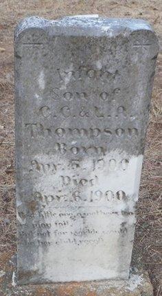 THOMPSON, INFANT SON - Cooke County, Texas | INFANT SON THOMPSON - Texas Gravestone Photos