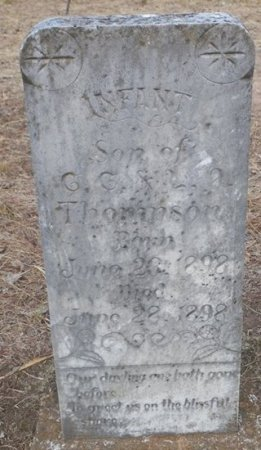 THOMPSON, INFANT SON - Cooke County, Texas   INFANT SON THOMPSON - Texas Gravestone Photos