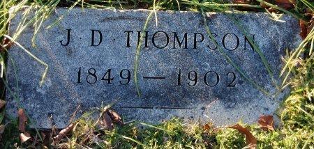 THOMPSON, J. D. - Cooke County, Texas   J. D. THOMPSON - Texas Gravestone Photos