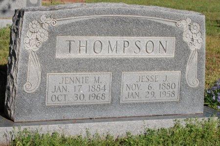 THOMPSON, JESSE JAMES - Cooke County, Texas | JESSE JAMES THOMPSON - Texas Gravestone Photos
