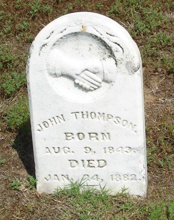 THOMPSON, JOHN - Cooke County, Texas | JOHN THOMPSON - Texas Gravestone Photos